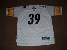 WILLIE PARKER #39 PITTSBURGH STEELERS PREMIER AWAY FOOTBALL JERSEY 2X-LARGE NEW