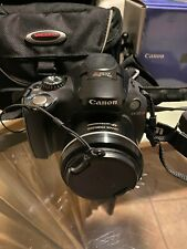 Canon PowerShot SX30 IS 14.1MP Digital Camera - with case, 2 batteries & charger