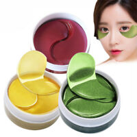 60PC GOLD Collagen Eye Mask Crystal Anti-Wrinkle Anti-Ageing Under Gel Eye Patch