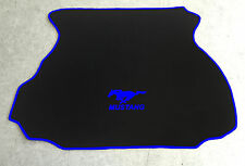 Autoteppich Fußmatten Kofferraum für Ford Mustang Coupe GT Cobra V6 blau 1994-04