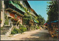 AD3366 Verbania - Provincia - Isola Pescatori - Strada pittoresca - Animata