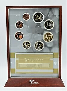 Netherlands 2001 -  Proof Like Euro Coinset