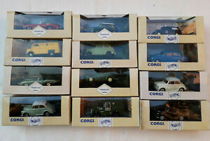 Job Lot Vintage Corgi Cars