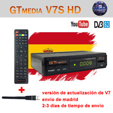 Original GTMEDIA V7S+Wifi FTA DVB-S2 Satellite Receiver Digital Full HD  Bisskey