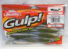 "Package of 8 Berkley Gulp 4"" Watermelon Pearl Minnow Soft Plastic Fishing Lures"