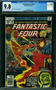 PEDIGREE*!! Fantastic Four #189 CGC 9.8 Near Mint / Mint WoW @@ WoW