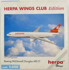 McDonnell Douglas MD-11 Swissair Asia HB-IWN Herpa 511896 1:500 in OVP [FR]