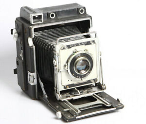 Graphic Graflex 4x5/9x12 mit Kodak Ektar Lens 4,7/127