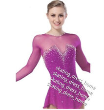 Custom Figure Skating Dresses Girls Competition Ice Skating Dress