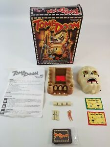 Tomb Of Doom Board Game Goliath Games 1999 Skull Vintage 90s Horror
