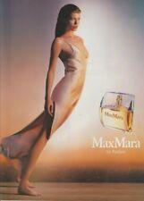 PUBLICITÉ PAPIER -  ADVERTISING PAPER MAX MARA