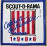 Scout-o-Rama 1988 Celebrate the Adventure! Patch Emblem Travel Souvenir Badge