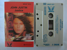 JOHN JUSTIN JUSTICE CASSETTE TAPE
