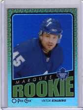 VIKTOR STALBERG GOLD RAINBOW 09/10 OPC Update #788 ROOKIE Hockey Card Parallel