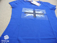 Official Product Olympics LONDON 2012 Team GB Inspired Ladies T- Shirt, Size: 12