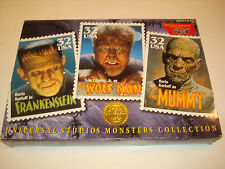 """Universal Studios Monster Collection Frankenstein, """"The Wolfman and The Mummy"""""""