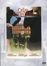 The Cruel Intentions Trilogy Parts 1, 2 & 3, Multi Feature, 3 discs NEW Sealed
