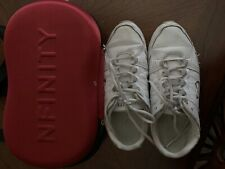 Nfinity Rival Cheer Shoes Size 8 Comes with free Travel Bag with Strap