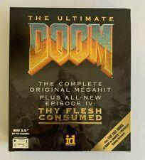 "The Ultimate Doom (PC, 1995) Ep IV: Thy Flesh Consumed, 3.5"" Disks & Addendum"