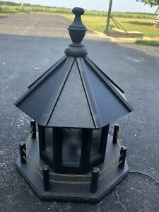 Replacement Outdoor Lighthouse Top Polywood Light Options Yard Garden