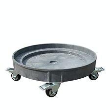 30 Gallon And 55 Gallon Heavy Duty Plastic Drum Dolly Durable Plastic Drum