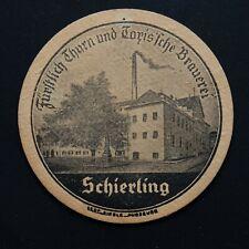 Thurn und Taxis Brauerei Schierling Germany Sous-bock bierviltje bierdeckel coas