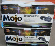 2 OPTIMA LIGHTING Mojo Spin Master III Barrel Movement Scanner 220V !!!