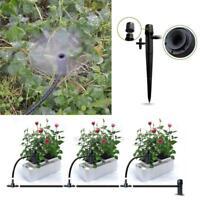 50x Adjustable Water Flow Irrigation Drippers Sprinkler Emitter Drip System HOT