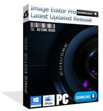 Latest 2018 Image Editor Pro Photo Editor Painter Software PC & MAC (Download)
