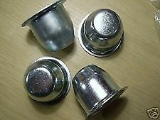 LAND ROVER SERIES HUB CAPS (Set of 4) UP TO 1980