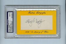 New ListingHugh Duffy 2010 Historic Autographs Psa/Dna 1/1 Signed Cut Auto Sp Legendary Ha