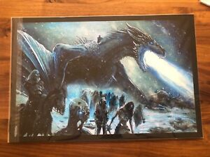 """Game of Thrones 2019 by Seth Groves private commission screen print 24X16"""""""
