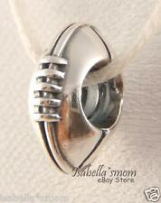 FOOTBALL Authentic PANDORA Sterling Silver SPORTS Charm/Bead 790384 NEW