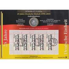 """BRD Bund Numisblatt 5/2015 """"25 Jahre Deutsche Einheit"""""""