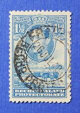 1938 BECHUANALAND PROTECTORATE 1 1/2d SCOTT# 126 S.G.# 120 USED          CS20650