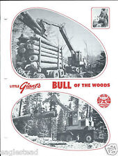Equipment Brochure - Little Giant - Bull Of The Woods Log Loader (E2944)