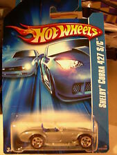 Hot Wheels Shelby Cobra 427 S/C Silver