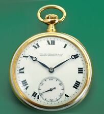 Vintage 1902 Very Special PATEK PHILIPPE 18K Gold Antique Pocket Watch +Extract
