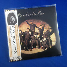Paul McCartney & Wings: Band On The Run 1999 JAP PROMO Mini LP ReplicaTOCP-65504