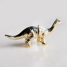 1pcs Dinosaur earring,Diplodocus earring,dinosaur ear stud,gold color