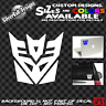Transformers Decepticon Custom Vinyl Decal car truck window laptop sticker JDM