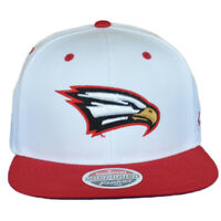 NCAA Zephyr Polk State College White Snapback Men Adjustable Flat Bill Hat Cap