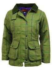 Tweed Check Outdoor Coats & Jackets for Women