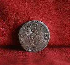 Italian States 1732 Mantua Soldo Copper World Coin Italy Radiant Sun Austria