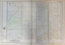 Orig. 1907 Midwood Flatbush Ave I To Ave M Brooklyn, Ny G.W. Bromley Atlas Map
