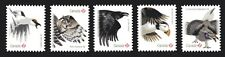 2016 Canada SC# Birds of Canada-1 - Owls, Puffin, Grouse, Raven- die cut - M-NH