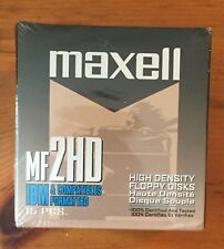 NEW IN BOX 15 Pack Maxell MF 2HD 3.5'' High Density Floppy Disks - 1.44MB