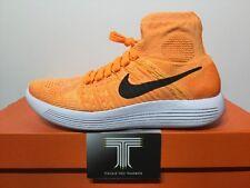 Nike Lunarepic Flyknit ~ Laser Orange ~ 818677 801 ~ Uk Size 6