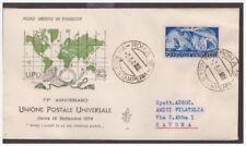 FDC VENETIA  CLUB  1949  -   UPU  NON  VIAGGIATA