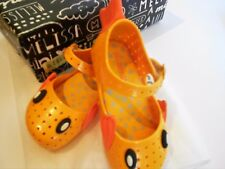 SOLD OUT! NWT AUTHENTIC MINI MELISSA GOLDFISH SHOES YELLOW SIZE 7  TODDLER 3T 2T